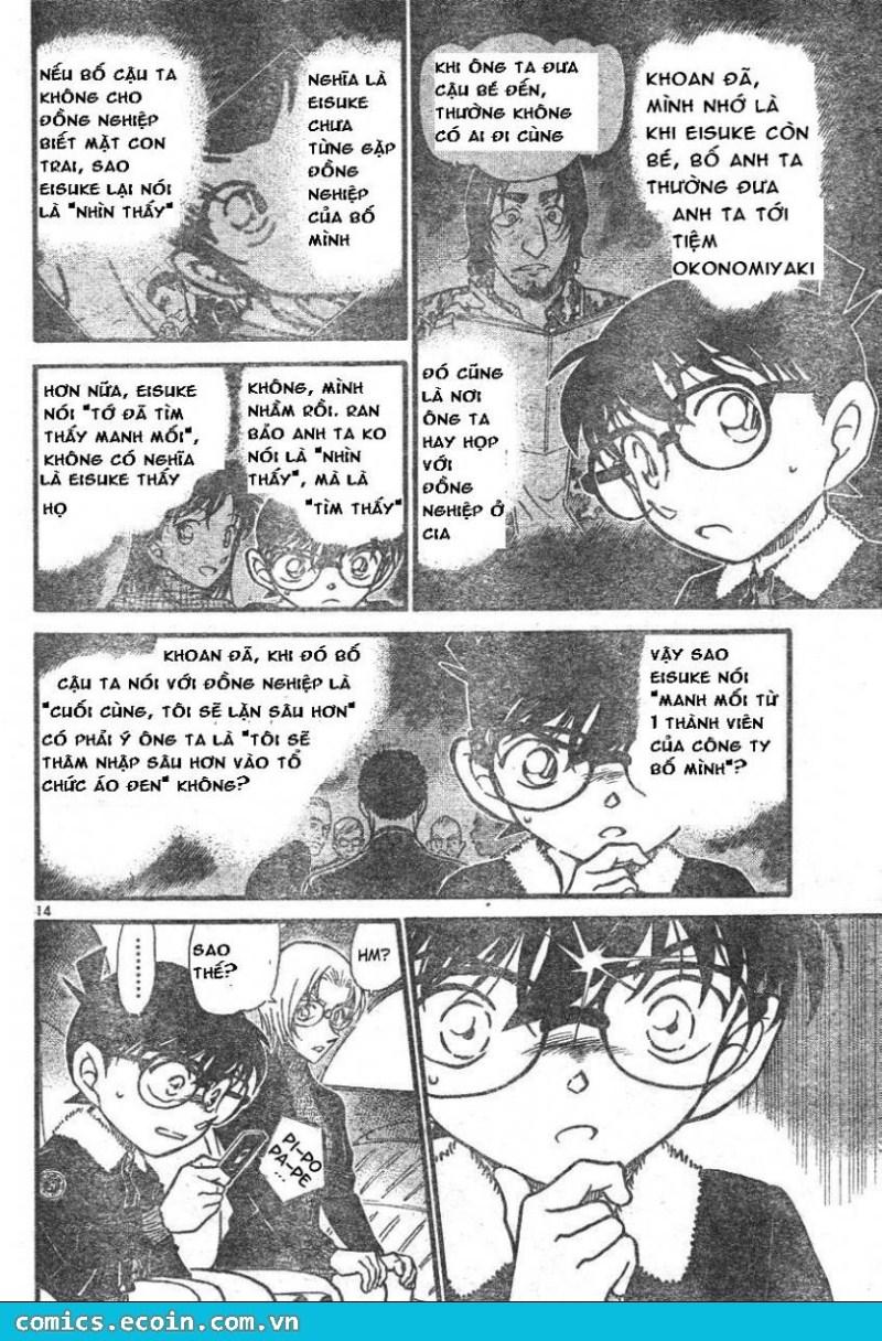 Detective Conan - Thám Tử Lừng Danh Conan chap 595 page 14 - IZTruyenTranh.com