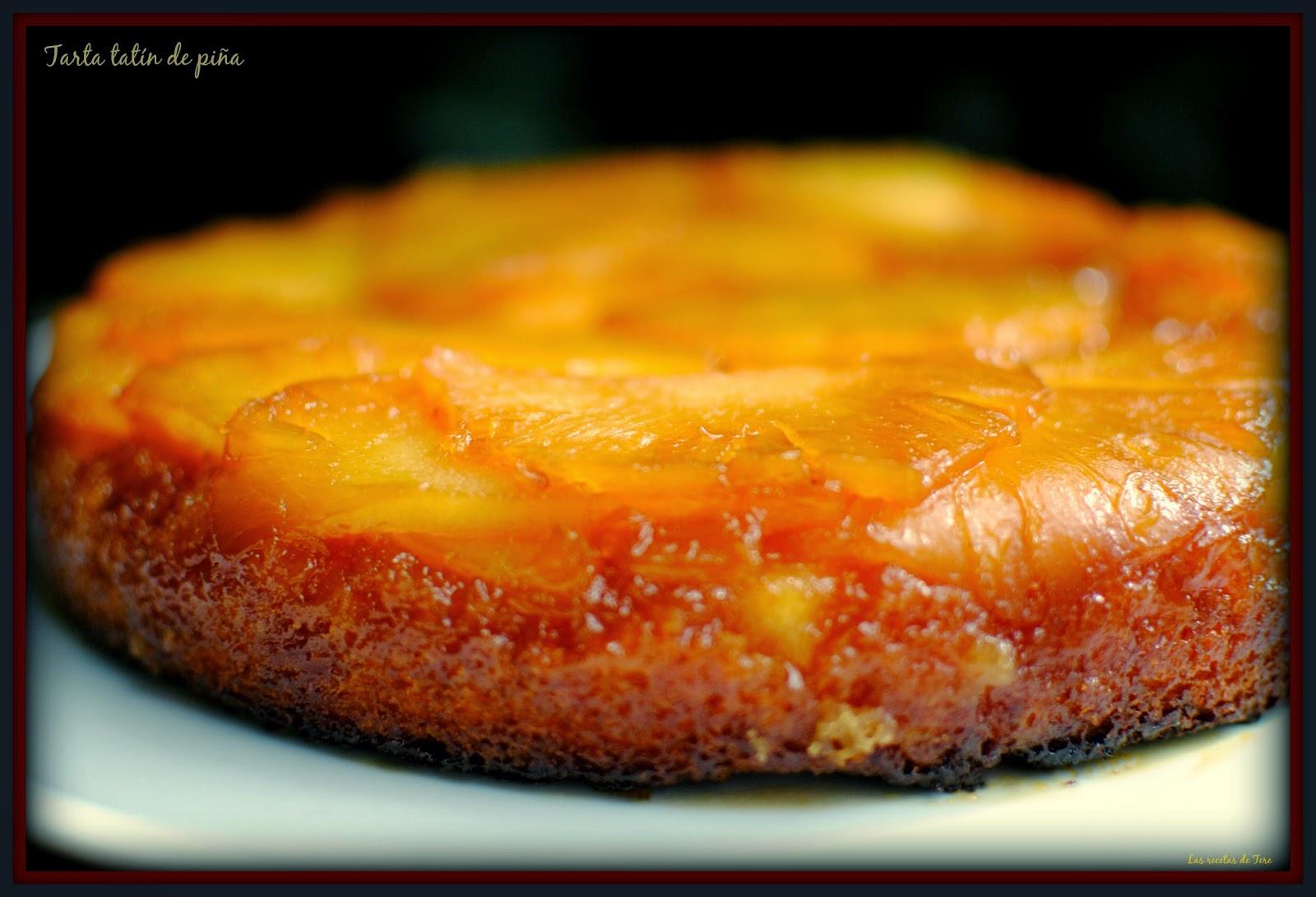 tarta tatín de piña tererecetas 03