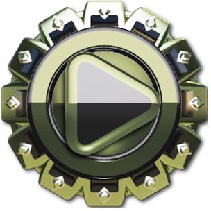 Green Dragon HD Poweramp skin v1.40