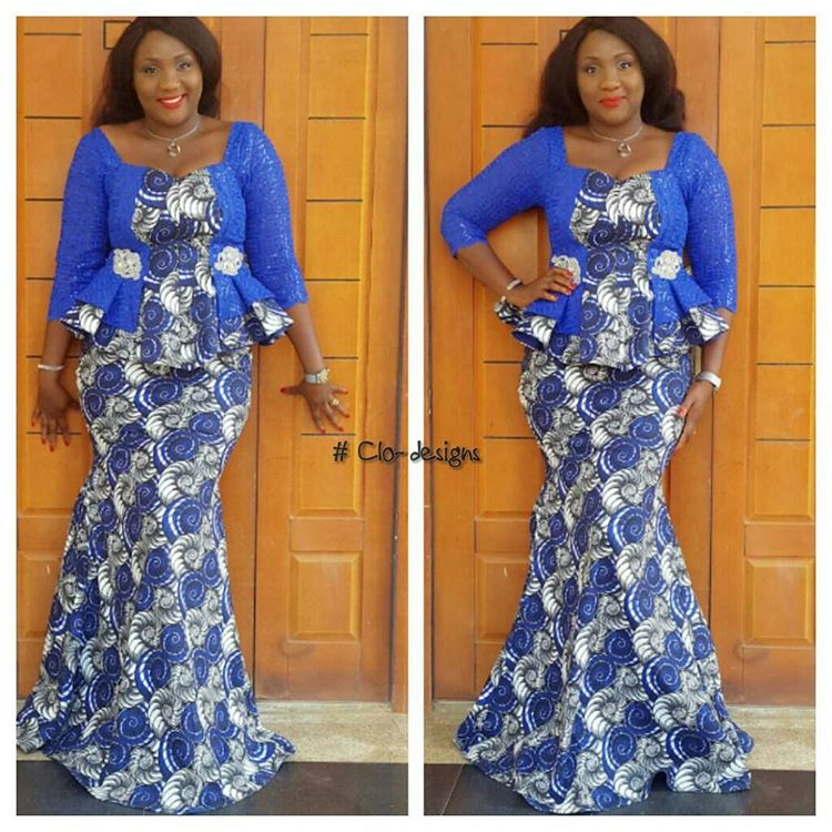 Lovely Ankara Skirt And Blouse Style Dezango Fashion Zone