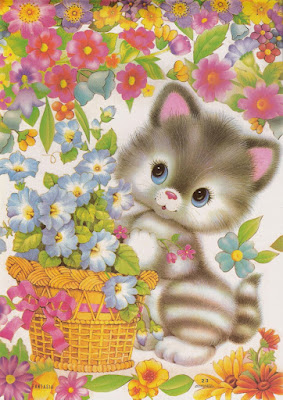 papeis de carta gatinho