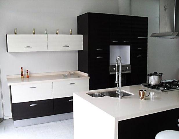 Rinnovare cocinas integrales en melamina - Cocinas en blanco y negro ...