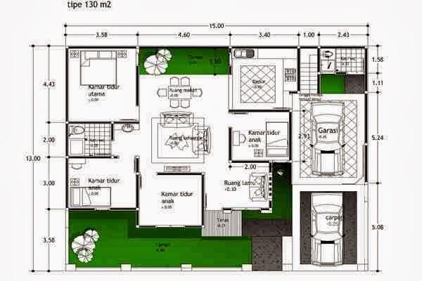 contoh gambar rumah kumpulan denah rumah flickr photo