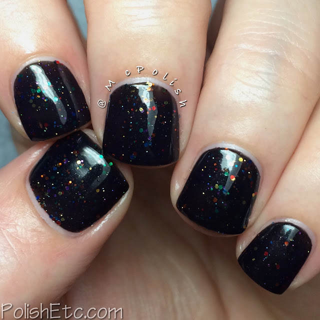 KBShimmer Fall 2015 Collection - Dark and Twisty - McPolish