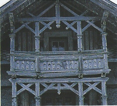 Cte Est Dec-Fev 2001-2002, mountain village architectural detail as seen on linenandlavender.net