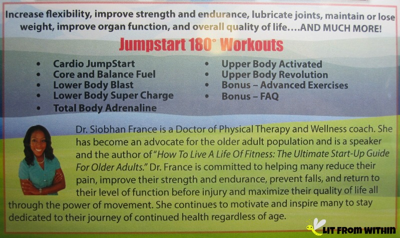 Jumpstart 180 Exercise for Seniors workouts