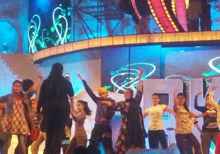 Shaharukh, Sonakshi & Ranbir at Colors Screen Awards Rehearsal