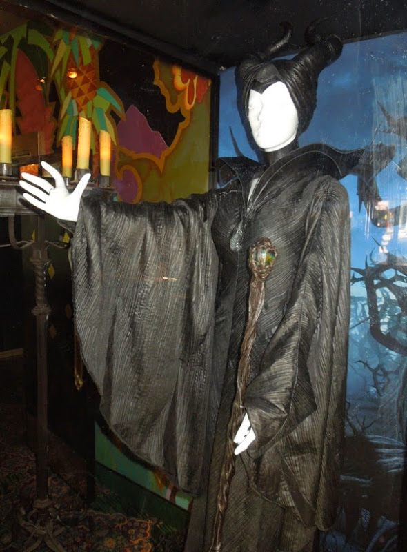 Disney Maleficent movie costume and staff