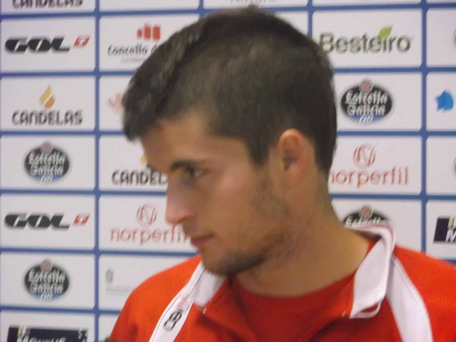 Alvaro Peña cree que el Lugo fue mejor que la Ponferradina el sábado - DSCF1901