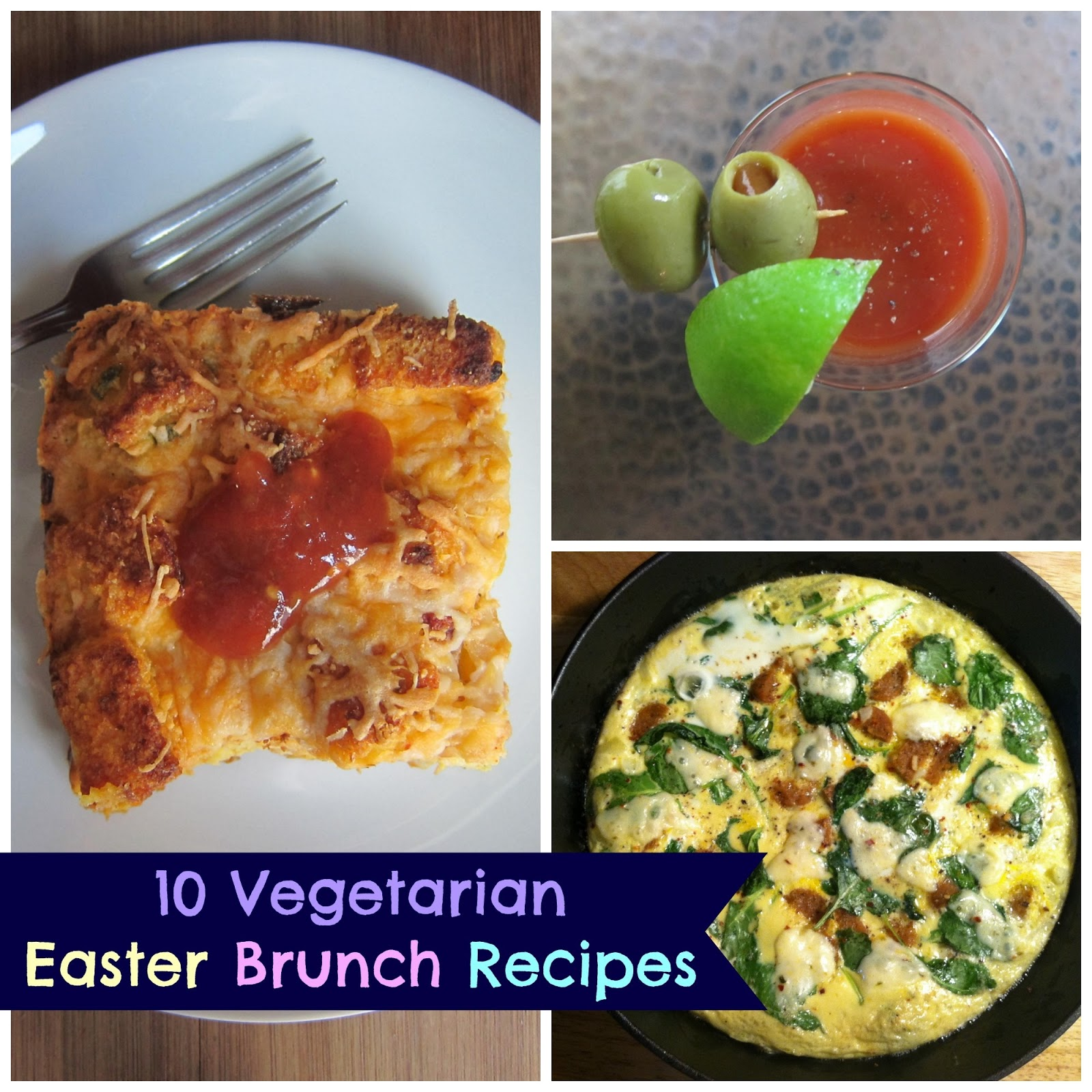 10 Vegetarian Easter Brunch Recipes | The Economical Eater