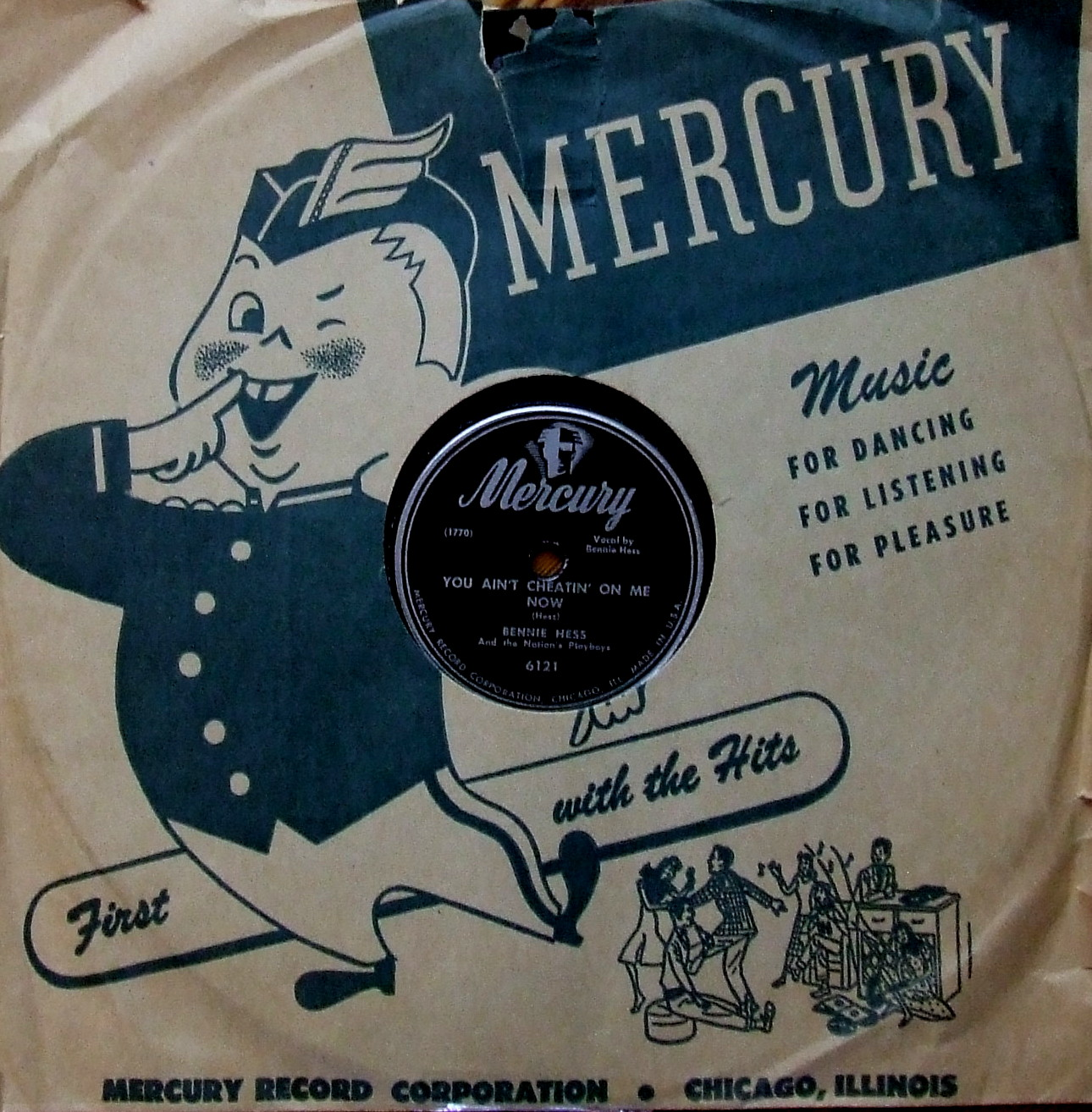 Mercury Heaven in a Sleeve !