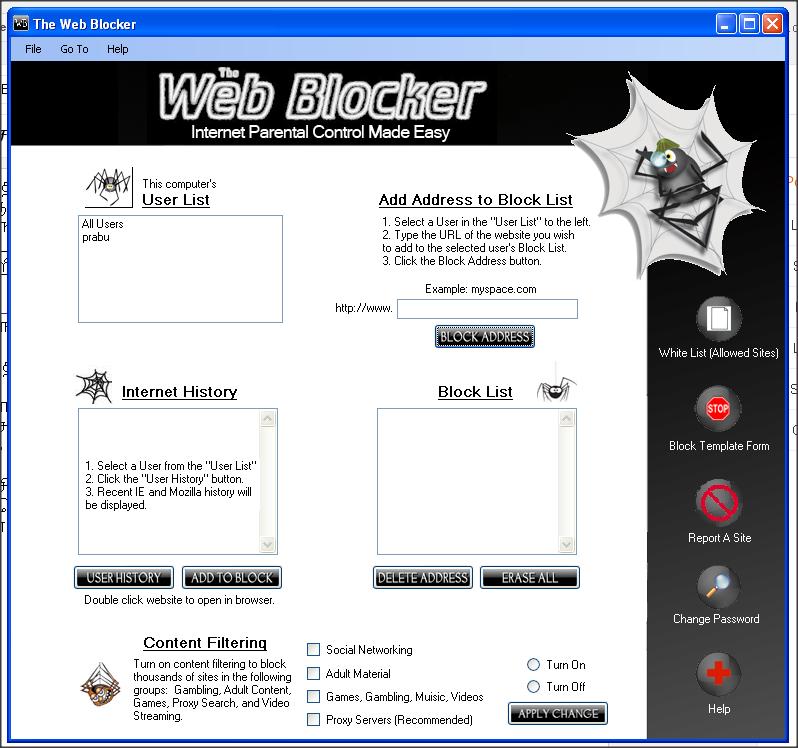 Blocking gambling websites blocking gambling websites