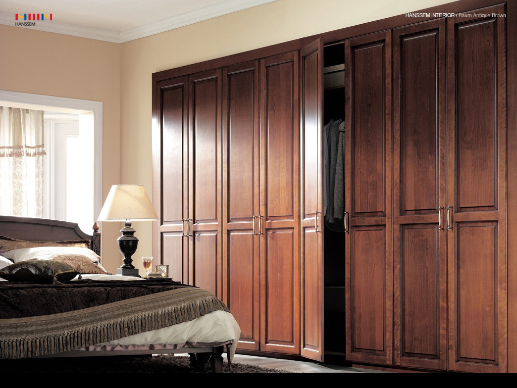 Find ideas for modern and minimalist wardrobe home for Wooden interior design for bedroom