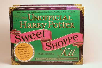 cover - Unofficial Harry Potter Sweet Shoppe Book