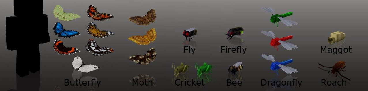Mo' Creatures insectos Minecraft mod