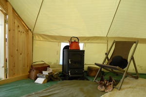 Installing a wood stove into a bell tent or yurt & Shepherds hut stove: Installing a wood stove into a bell tent or yurt