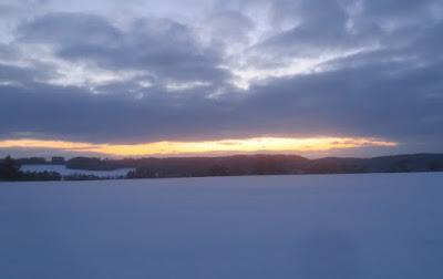 Winterwanderung im Frankenwald