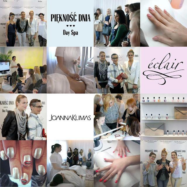 Keep on blogging - Eclair your nails! Czyli event zorganizowany w Piękność Day Spa z marką Eclair