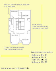 Floor plan ~ Upper level