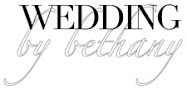Wedding by Bethany