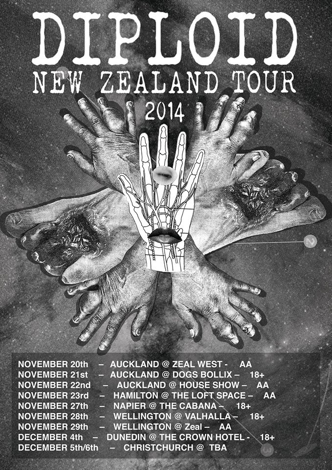 Diploid NZ Tour