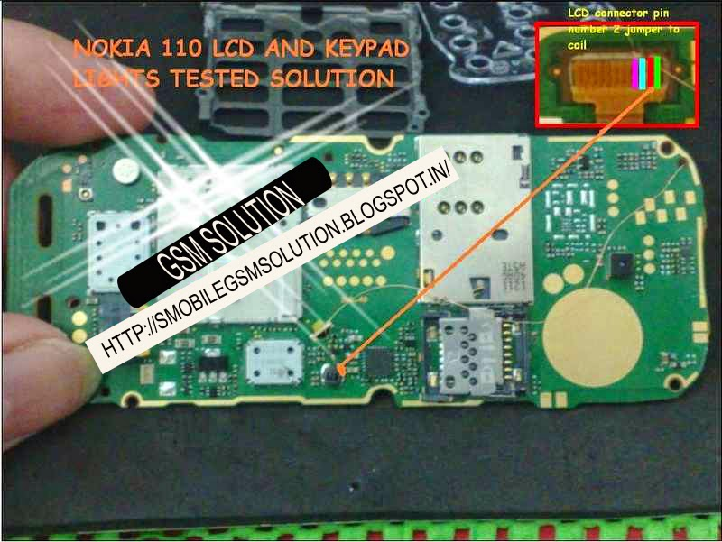Central Download Nokia 1202 Lcd Display Light Ic Jumper Solution