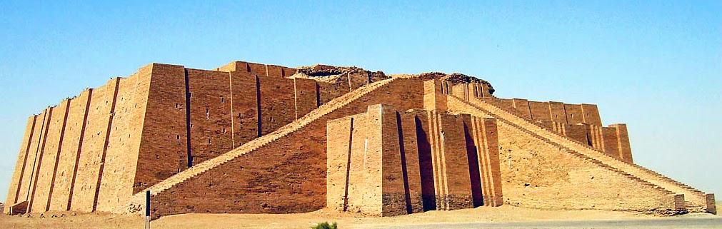 atlantean gardens massive ziggurats of ancient mesopotamia robert