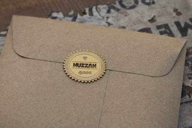 sampul surat kad kahwin