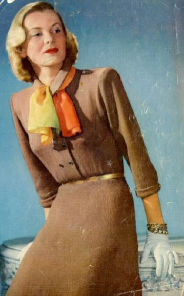 free pattern 1940's Knitting - Beehive Dress