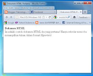 dokumen html