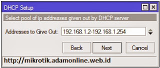 IP Address Client DHCP Server