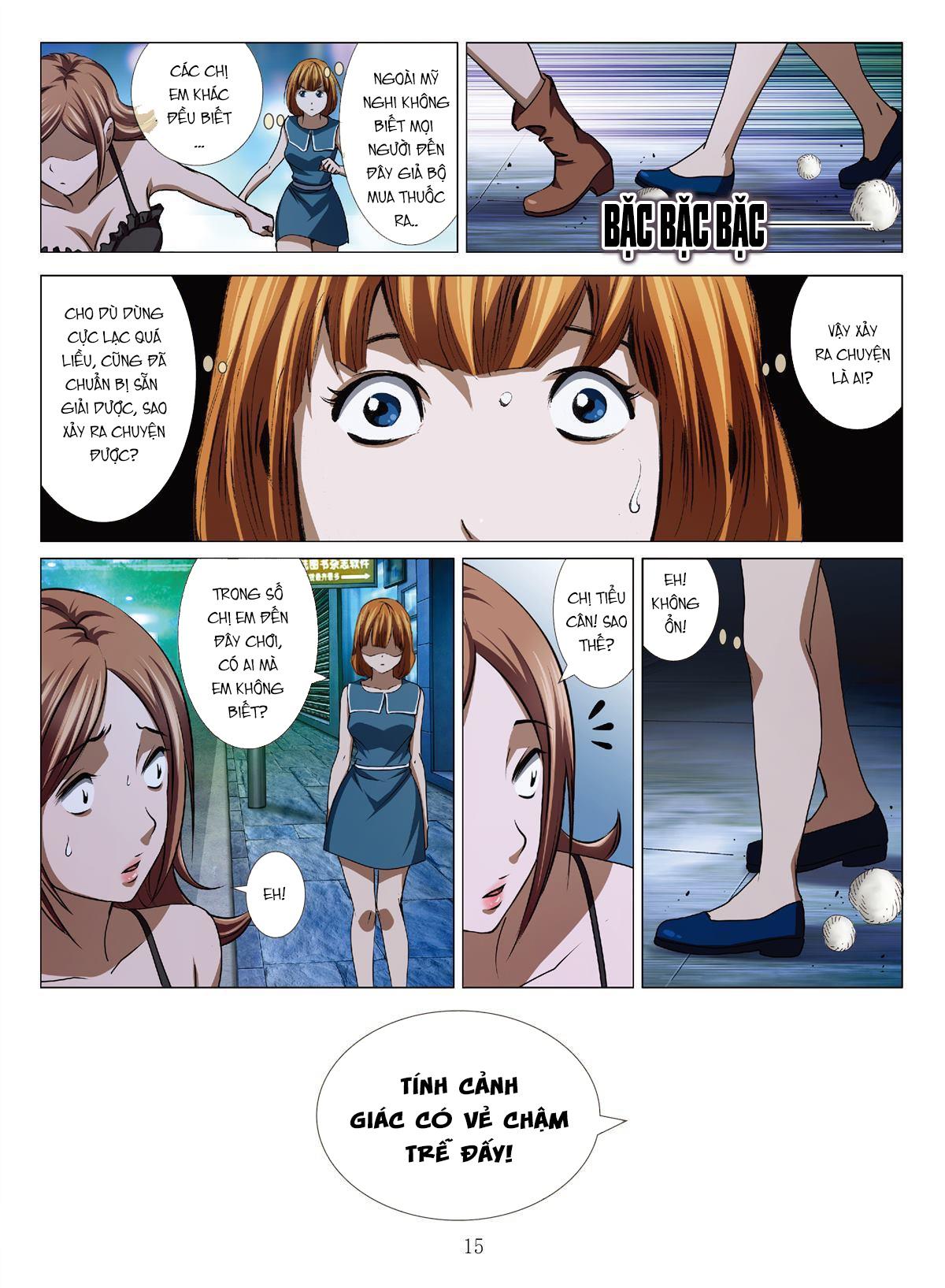 Bloody Girl Chapter 15l - Hamtruyen.vn