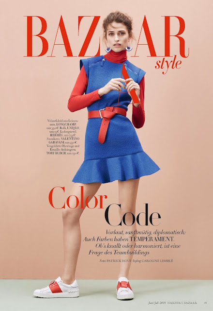 Fashion Model @ Regitze Christensen - Harpers Bazaar Germany, June 2015