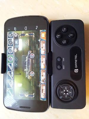 Controller with Galaxy Nexus