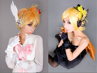 Vocaloid Magnet Rin and Len cosplay by Ren