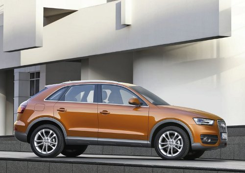 3 of 5 - 2012 Audi Q3 Side Pictures