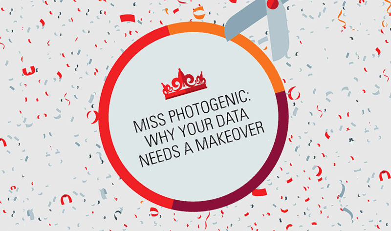 Miss Photogenic: Why Your Data Needs A Makeover - #infographic