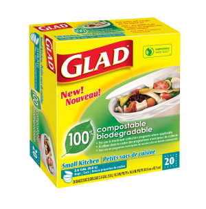 NorCal Coupon Gal: $1.50 Off Glad Compostable Trash Bags!