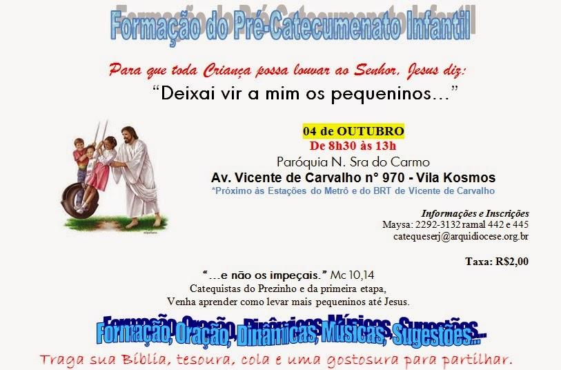 Formação do Pré-Catecumenato