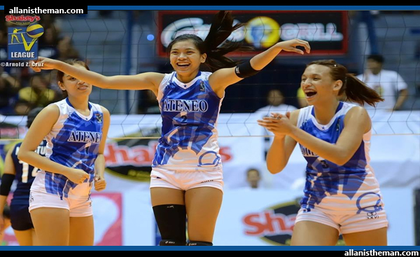 Alyssa Valdez-led Ateneo defeats NU Bulldogs to clinch V-League top seed