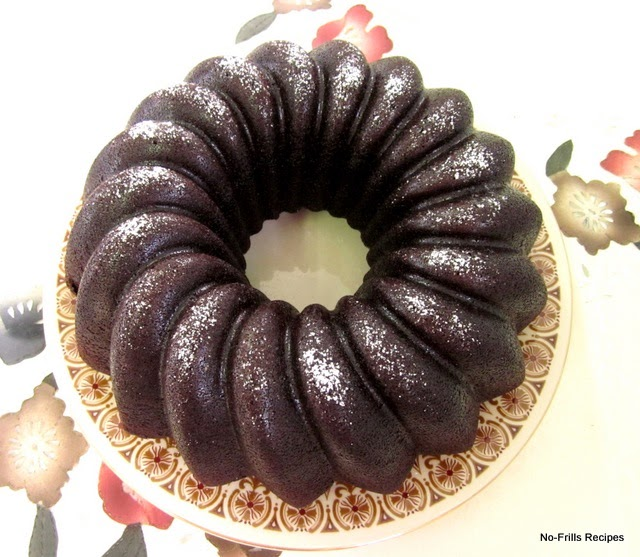 Root Beer Chocolate Bundt Cake