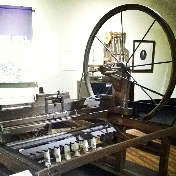 Spinning Jenny, Blackburn Museum