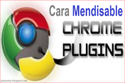 Cara Mendisable Plugin di Google Chrome