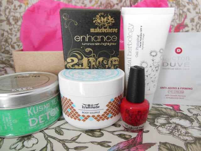 Birchbox UK May 2013 contents