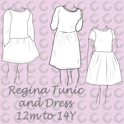 Regina Tunic & Dress