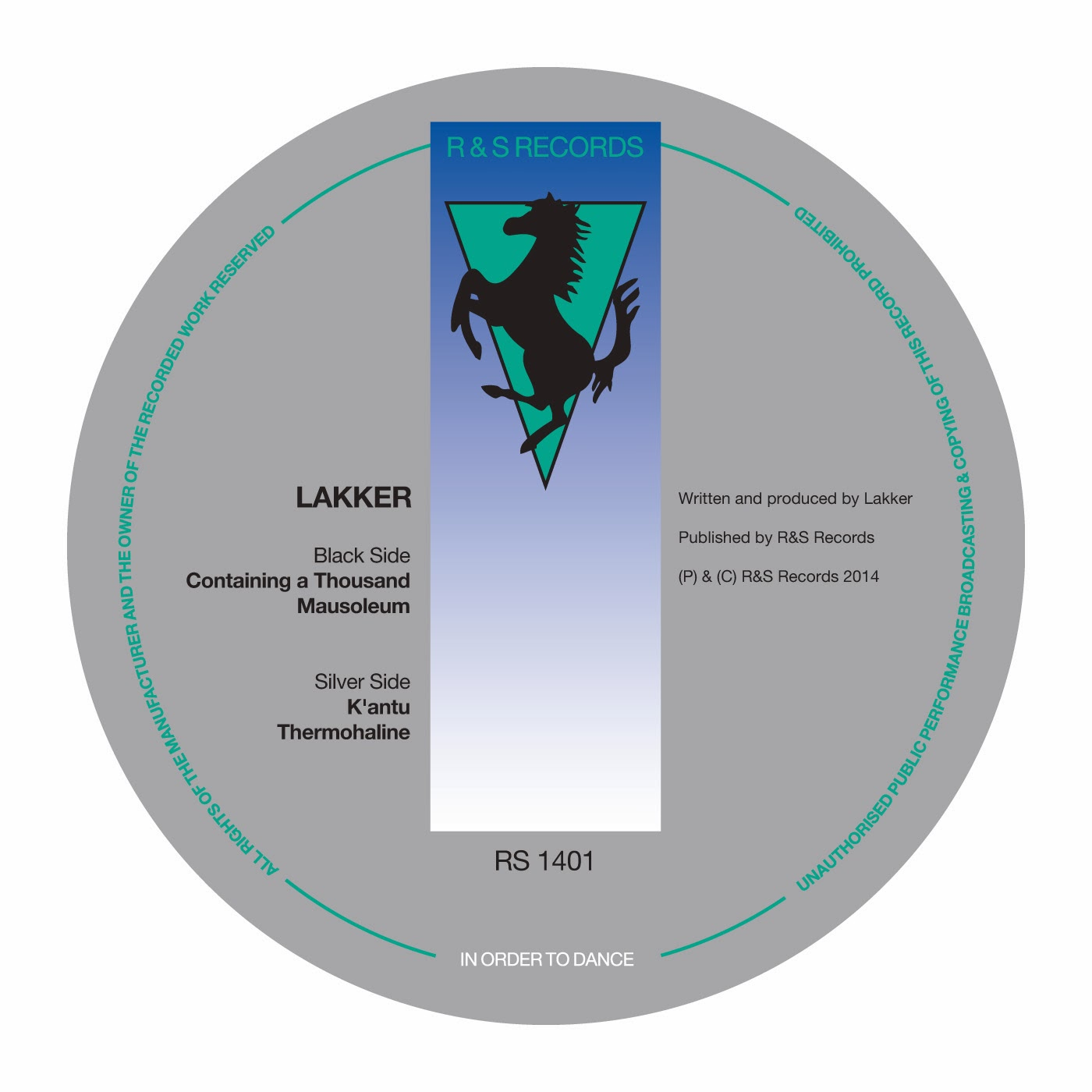 discosafari - LAKKER - Containing A Thousand - R & S Records