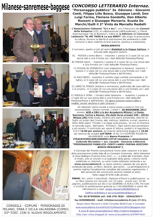 CRV-ACR il MI-EUROPA-OSCAR NO AL BULLISMO.18-19-20-21