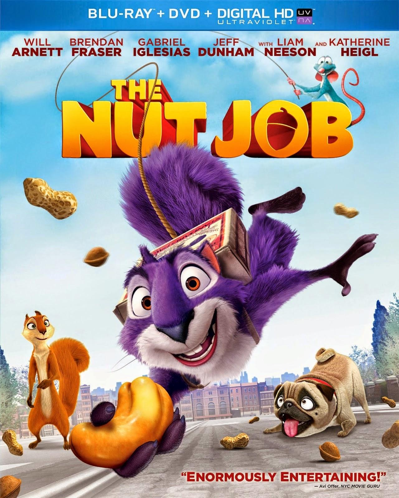 ดูการ์ตูน The Nut Job  ภารกิจหม่ำถั่วป่วนเมือง