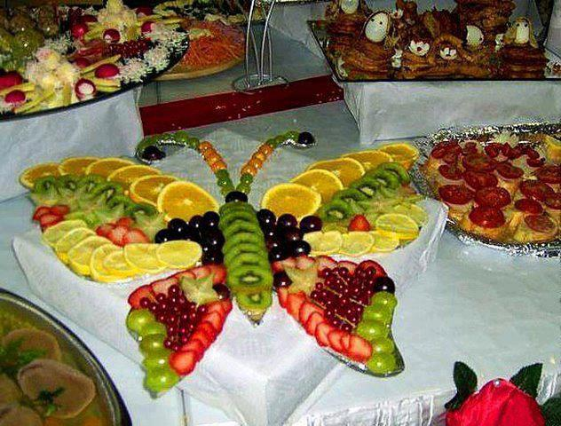 Fruit Salad Recipe Tree With Ice Cream Decoration Ideas