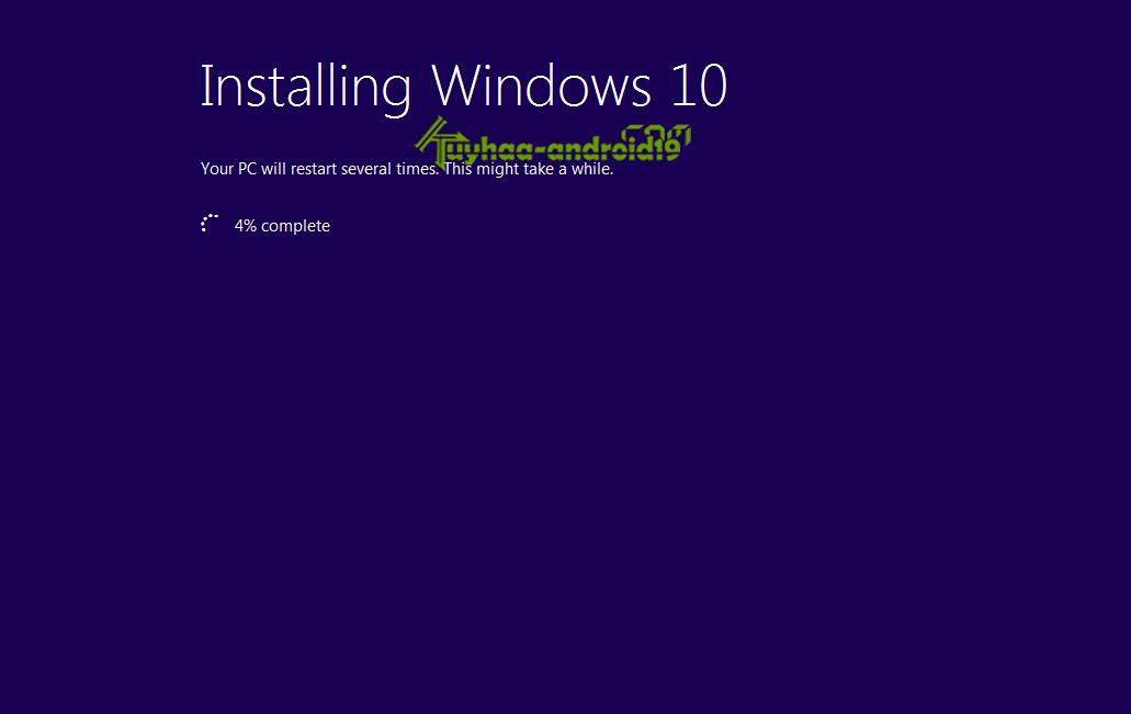Cara upgrade offline windows 10 kuyhaa
